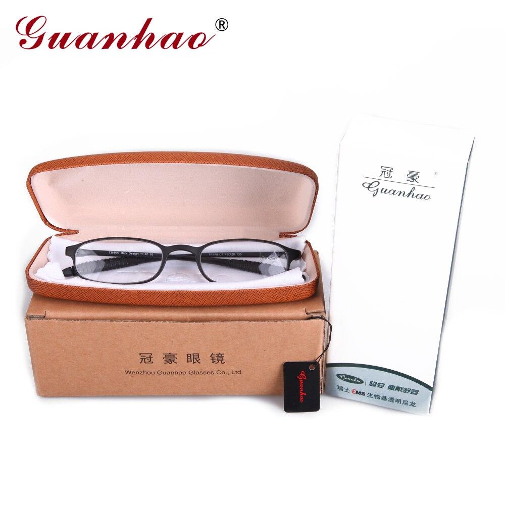 Guanhao frauen retro brille ultraleicht schlanke lesebrille unisex - Bekleidungszubehör - Foto 6