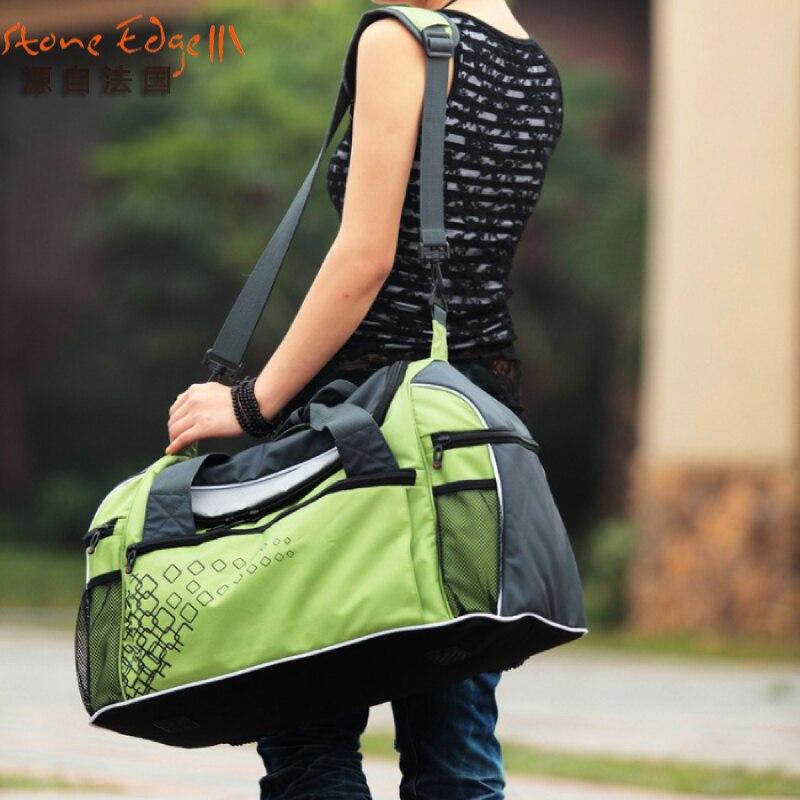 Ali Victory large capacity nylon luggage travel bags handbag carryon luggage fashion weekend tote duffle bag items TB16
