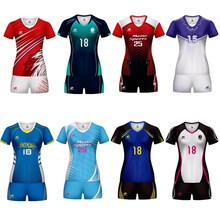 2019 Design Jersey Volleyball Uniform For Men Women Can Custom Breathable Sportswear Uniforme De Voleibol