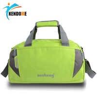 Chaude en plein air en Nylon imperméable à l'eau sport sac de sport femmes hommes pour la salle de sport Fitness formation épaule sacs à main sac de yoga sac bagages