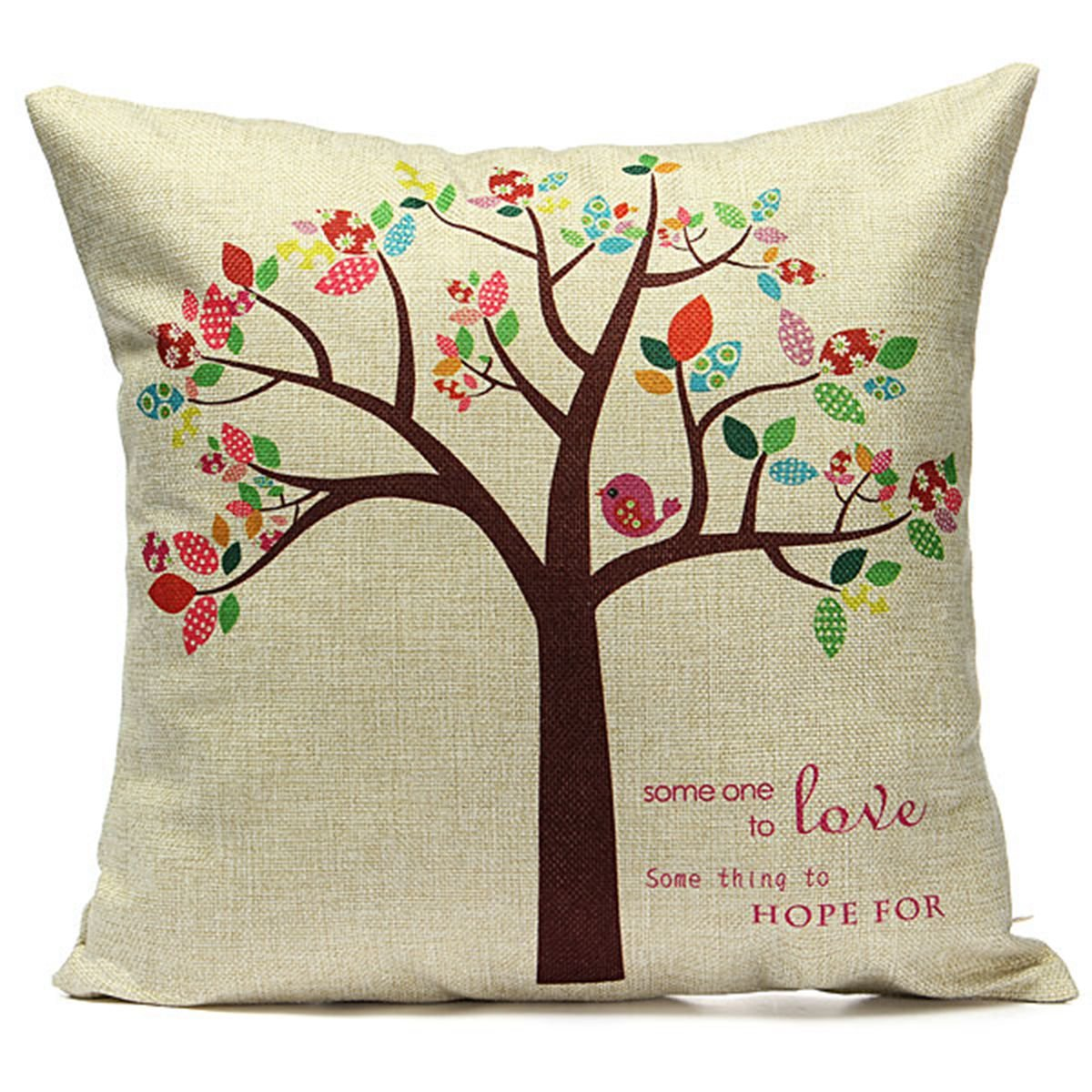 43cmx43cm Pillow Cushion Cover Decorative For Sofa Bed In