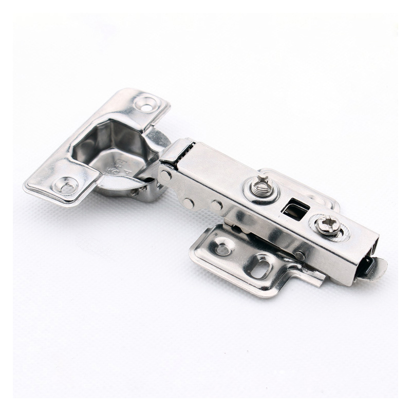 2pcs/Lot Stainless Steel Soft-close Cabinet Door Hinge with Hydraulic Buffer Hinges Removable Detachable Cup/Base/Plate купить