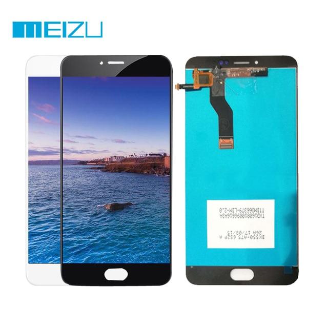 Для Meizu l681h ЖК-дисплей Дисплей Сенсорный экран дигитайзер Ассамблеи для Meizu M3 Note l681h Стекло Сенсор Панель Запчасти для авто