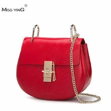 New Mimi Chain Small Women Bags Fashion Designer Girls Messenger Bag Brand Leather Crossbody Bags Candy Colors Lady Handbags