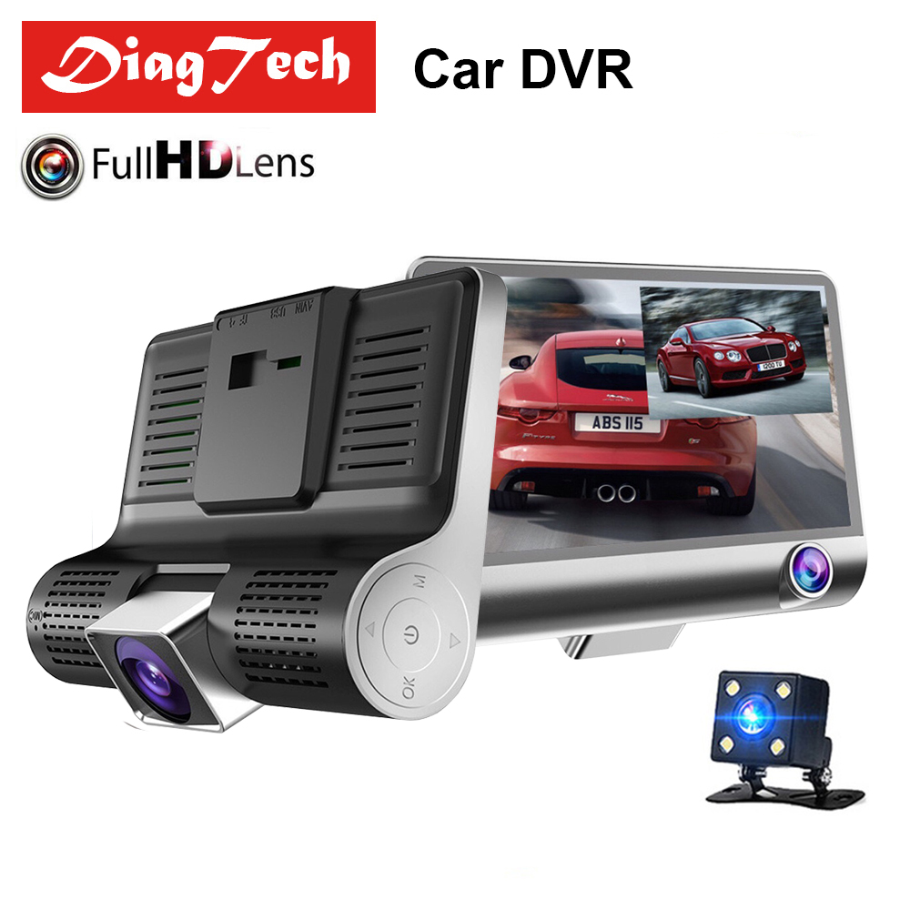 Registrator Camera-Lens Car-Dvr Car-Rearview-Mirror Dash-Cam G-Sensor Night-Vision View170-Degree