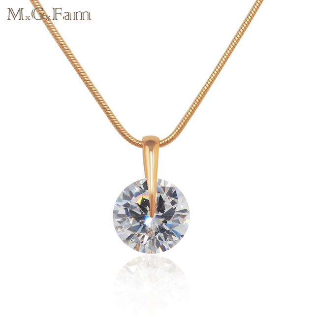 Mgfam special price single round cz pendants necklace for women mgfam special price single round cz pendants necklace for women classic style gold color aloadofball Gallery