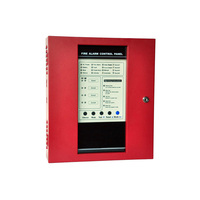 (1 set)Fire Alarm Control Panel 4 zones Security Protection Easy Installation English manual Alarm System Smoke Detector