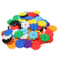 300+pcs3D thickened snowflake pieces building blocks