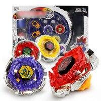 4 sztuk/zestaw Plastic Metal Fusion Beyblades Spinning Szybkość 4D Beyblade Spin Top Toy Zestaw Dla Dzieci Boże Narodzenie Zabawki Najlepsze Prezenty