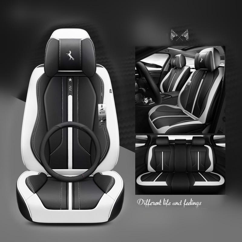 Esportes assento de carro cobre estilo do carro para BMW Audi Toyota Volkswagen passat peugeot skoda Ford Honda KIA all sedan