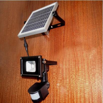 Colorpai Outdoor Floodlight 5W PIR LED Flood light white/ Warm white Motion Sensor Spotlight