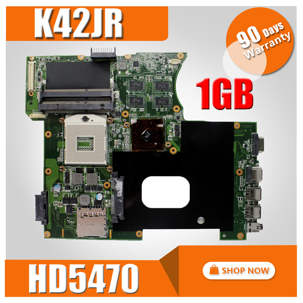 K42JR Motherboard Rev 4.0 1GB HD5470 For ASUS K42JR K42JZ K42JB K42JY Laptop motherboard K42JR Mainboard K42JR Motherboard цена