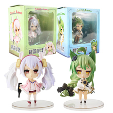 Azur Lane Action Figure Anime Model USS Laffey Nendoroid Dolls Decoration Collection Figurine Christmas Toys for Gifts 10cm stranger things character 10cm action figure toys vinyl dolls for collection