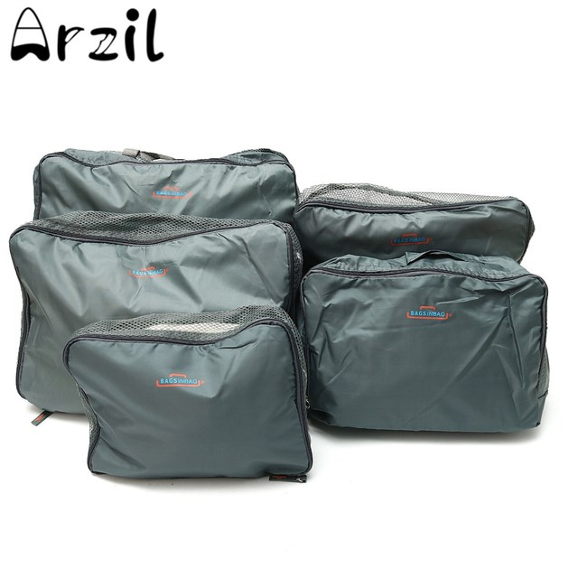 5Pcs/Set Nylon Travel Storage Bags Clothes Underwear Socks Packing Cube Storage Pouch Portable Travel  sc 1 st  AliExpress.com & 5Pcs/Set Nylon Travel Storage Bags Clothes Underwear Socks Packing ...