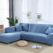 Серый цвет чехол на диван из стрейч-материала эластичные чехлы для диванов для гостиной Copridivano чехлы для диванов секционный угол l-образный чехол для дивана