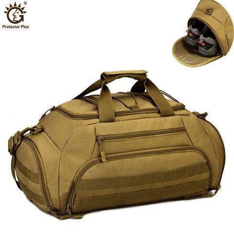 Táticas do Exército Bolsas de Nylon Pacote de Bolsa 35l Molle Militar Mochila Mochila à Prova d' Água 14 Polegada Laptop Homens Viajam Bolsa da Câmera