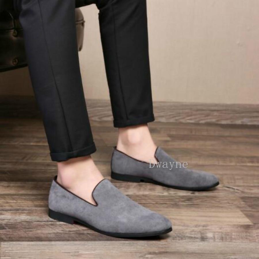 Oxford marron Noir Robe gris Formelles Chaussures Mariage Daim 46 De Hommes En Plus 37 Taille D'affaires Cuir Dwayne La Pointu Bout Casual Pour 1wRtSxq