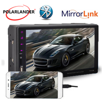 7 USB/FM/Aux Bluetooth MP5 Player Touch Mirror Link Screen Remote Control Stereo Hand Free Radio Car 2Din for Android Phone
