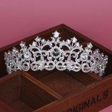 цена на Korean Princess Bride Wedding crown crown headdress ornaments bride wedding accessories jewelry jewelry