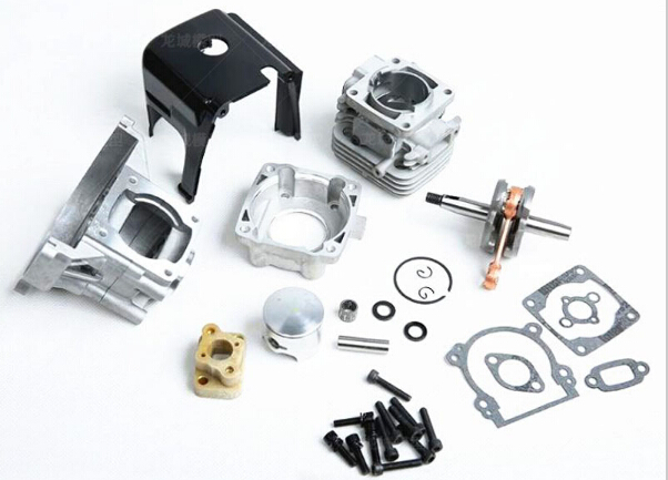32cc Big Bore UPGRADE KIT 38mm fit 26cc 29cc 30.5CC Zenoah for 1/5 hpi rovan km baja Losi 5T FG rc car parts baja parts 2 change 4 bolt engine 30 5cc big bore upgrade kit for 1 5 hpi baja 5b 5t km