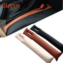 1 шт., черный, бежевый, коричневый Чехол для сидений автомобиля, защита от щелей, искусственная кожа, герметичная защитная накладка на сидень...