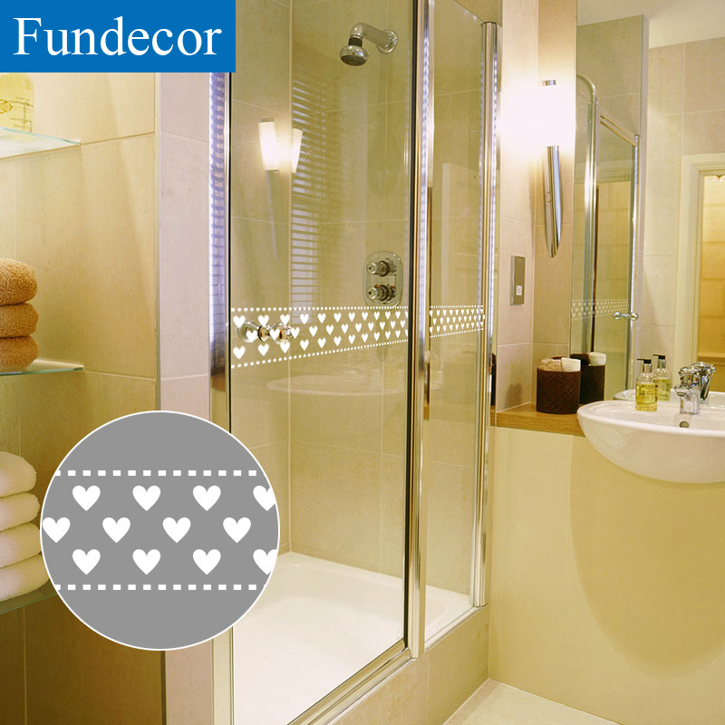 10x1000cm Solid White Love Wall Stickers Window Glass Bathroom Kitchen Cabinet Stove Decals Home Decor Self Adhesive fundecor Reasonable