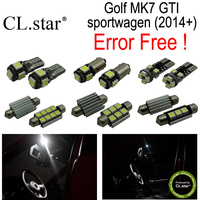 13pc X Decoder Canbus Error Free For Volkswagen VW Golf MK7 GTI Sportwagen LED Lamp Interior