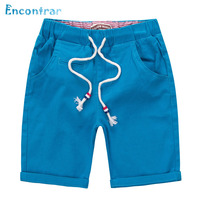 Encontrar Summer Solid Linen Shorts For Children Fashion Cotton Shorts For Boys Kids Beach Casual Shorts