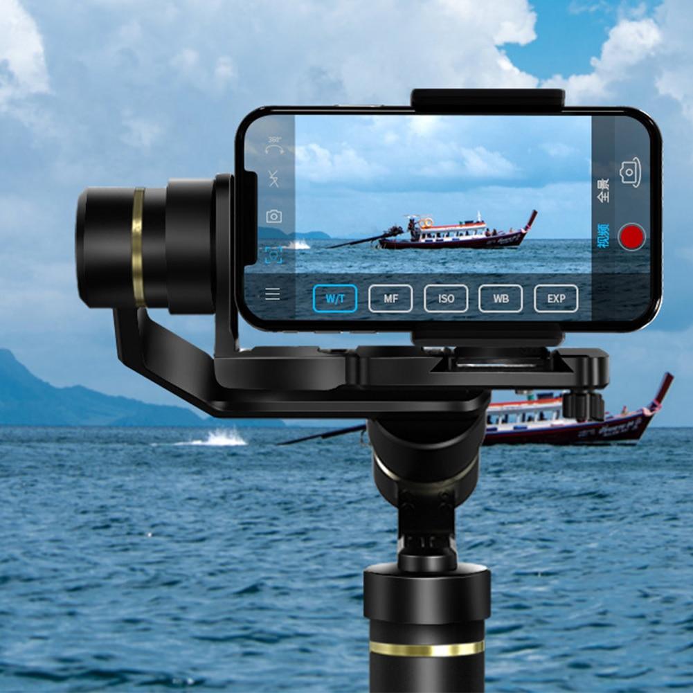 G6 Plus Portable noir avec vis accessoires anti-projections stabilisateur Durable 3 axes cardan Portable pour appareil photo reflex numérique