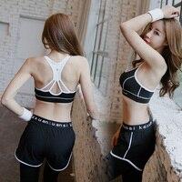 Women Fitness Yoga Set 3 PCS( T-Shirt+Trousers+Bra) Sexy Sports Suit Running Breathable Exercise Set Sportswear XXL