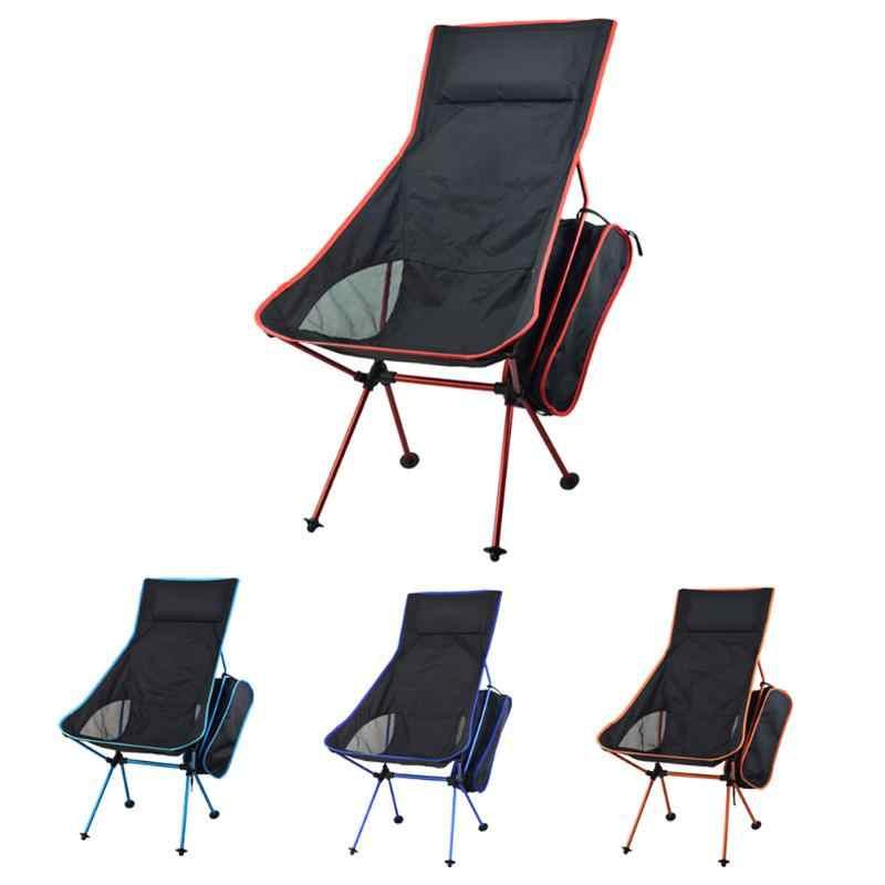 Outdoorcamping Lengthen дизайн портативный складной Кемпинг стул сиденье для рыбалки фестиваль пикника барбекю пляж с сумкой Новый