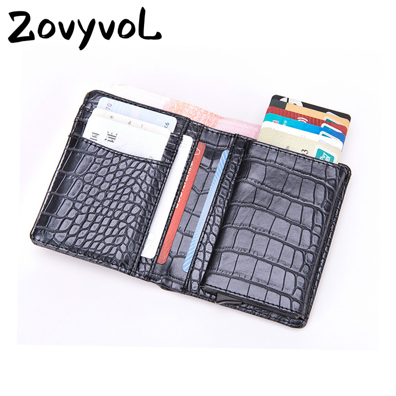 ZOVYVOL 2019 Business Card Wallet for Men and Women New Travel Multifunction Credit Holder Single Box Luxury