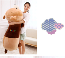 huge 130cm prone bear plush toy ,soft bear doll hugging pillow Valentine's Day,birthday present Xmas gift c659