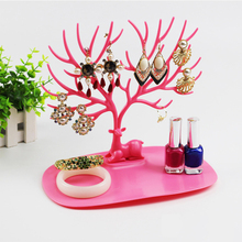 Creative Storage Stand Jewelry Display Storage Rack Earring Stand Necklace Rings Bracelet Display Cute Antlers Branch Shape
