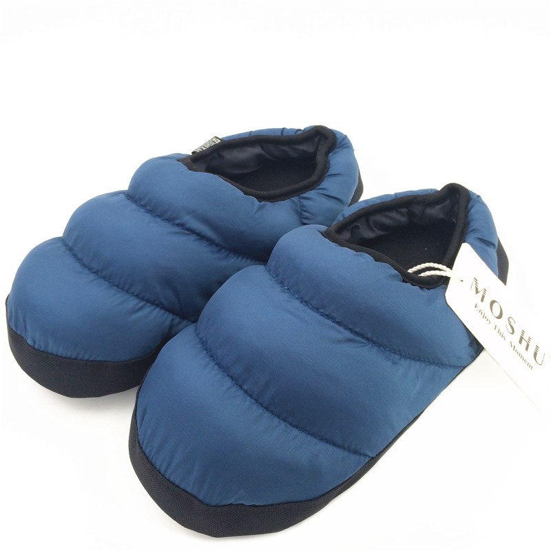 Winter Men&Women Slippers Home Plush Indoor Ladies Shoes House Female Fuzzy Black Slippers Flip Flops Slides