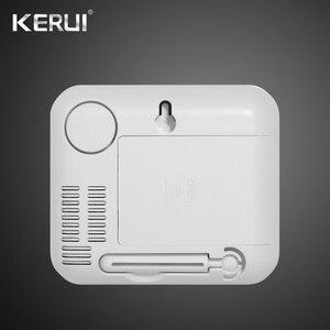 Image 3 - Kerui 433mhz atualizado sem fio display led de temperatura ajustável alarme detector sensor proteção para casa sistema alarme