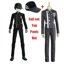 2019 Ainme Danganronpa V3 Killing Harmony Korekiyo Shinguji Cosplay Costumes Halloween Christmas Uniform suits full set with Hat