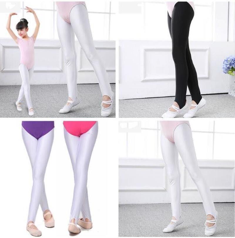 Kids Girls Pantyhose Stockings Ballet Dance Tights Yoga Gymnastics Dancewear