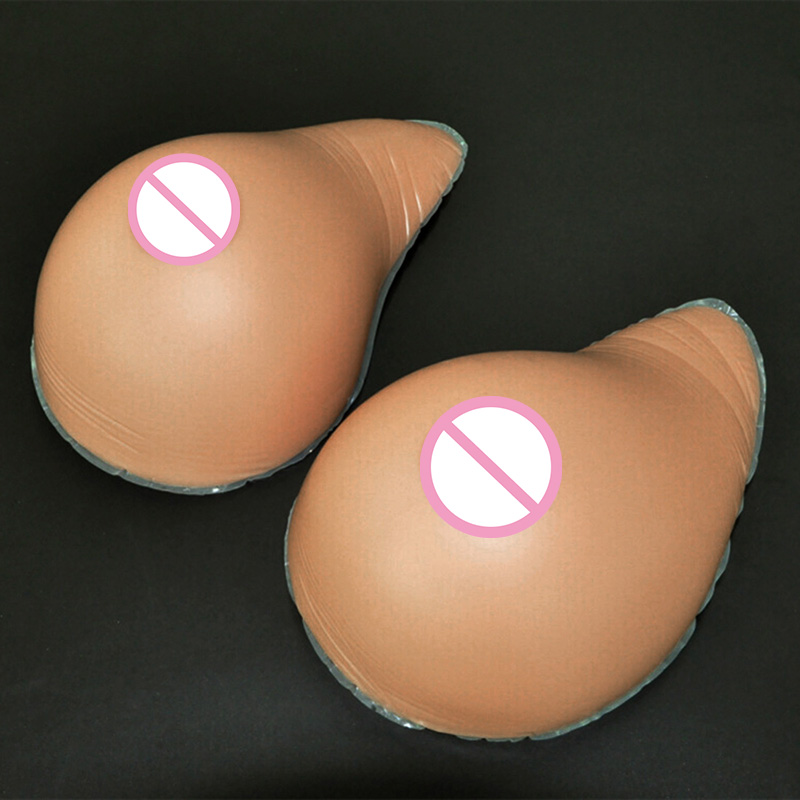 2800g/pair 8XL Size Silicone Breast Form Realistic Crossdress Shemale Transvestite False Boobs Enhancer Artificial Breasts  free shipping 1200g pair beige silicone false breast forms crossdress transvestite boobs enhancer