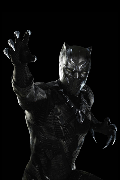 Custom Canvas Art Black Panther Mask Poster Marvel