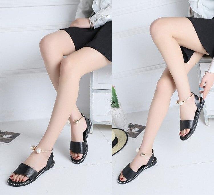 HTB1bnLiwS8YBeNkSnb4q6yevFXaq Women Sandals Flip Flops 2018 New Summer Fashion Rome Slip-On Breathable Non-slip Shoes Woman Slides Solid Casual Female