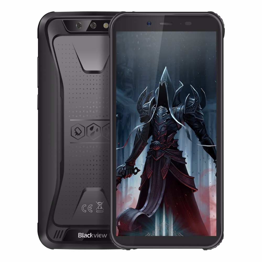 "Blackview BV5500 Pro 4G IP68 Waterproof Smartphone 3GB+16GB 5.5"" 18:9 Screen 4400mAh MT6739V Android 9.0 Dual SIM Mobile Phone-in Cellphones from Cellphones & Telecommunications"