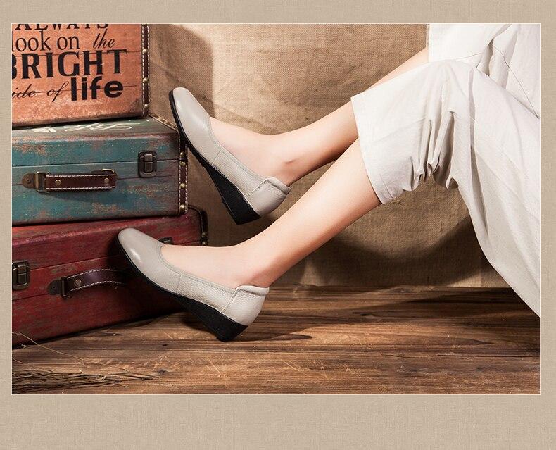 mão mais tamanho couro genuíno sapatos planos