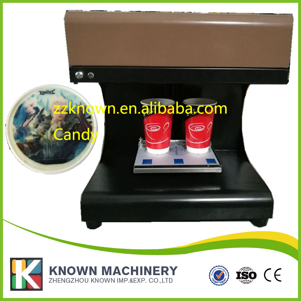 food inkjet printer selfie Full Automatic Latte Coffee Printe WIFI function with double cups coffee and food printer inkjet printer selfie coffee printer full automatic latte coffee printer with 8 inch tablet pc