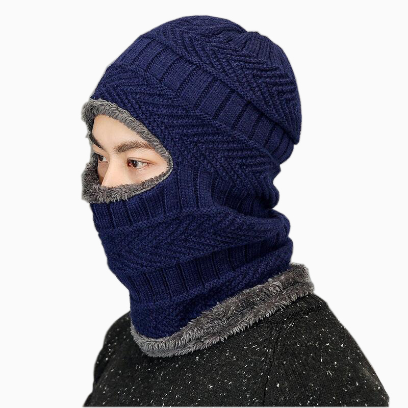 2017 Latest Hot Selling multi functional knit cap Balaclava mask winter wool Hats adult men and women beanies thick mask mulinsen latest lifestyle 2017 autumn winter men