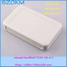 1 piece free shipping plastic enclosure box  electronic enclosure  abs  enclosure with power 195X155X29 MM