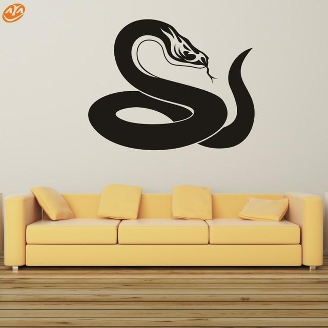 wall art aya diy wall stickers wall decal,the snake pvc wall
