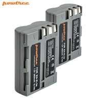 2 pièces 7.2 V 2600 mAh akku DSLR EN-EL3e EN EL3e ENEL3e Batterie Pour Nikon D300S D300 D100 D200 D700 D70S D80 D90 D50 L15