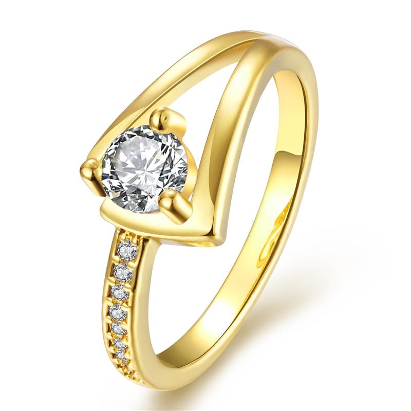 gold wedding rings for women simple - Gold Wedding Rings For Women