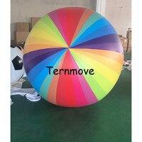 Радуга ПВХ шар реклама продвижение плавающий гелия на заказ большой небо весь воздушный шар может печать логотипа